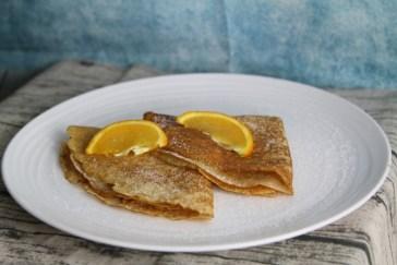Eggless Crepe Pancakes