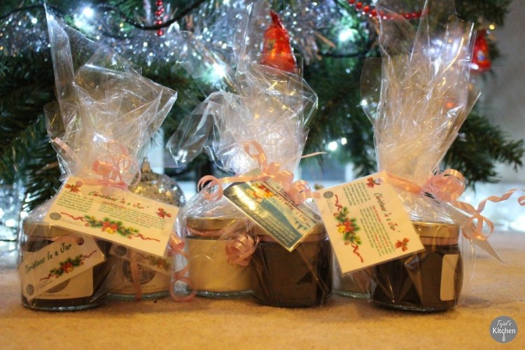 Christmas in Jar Gifts DIY