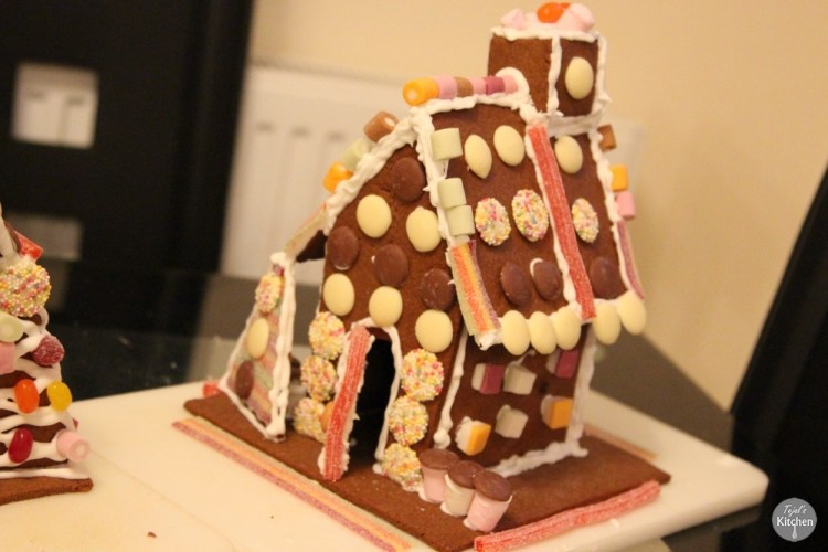 Vegan Gingerbread House