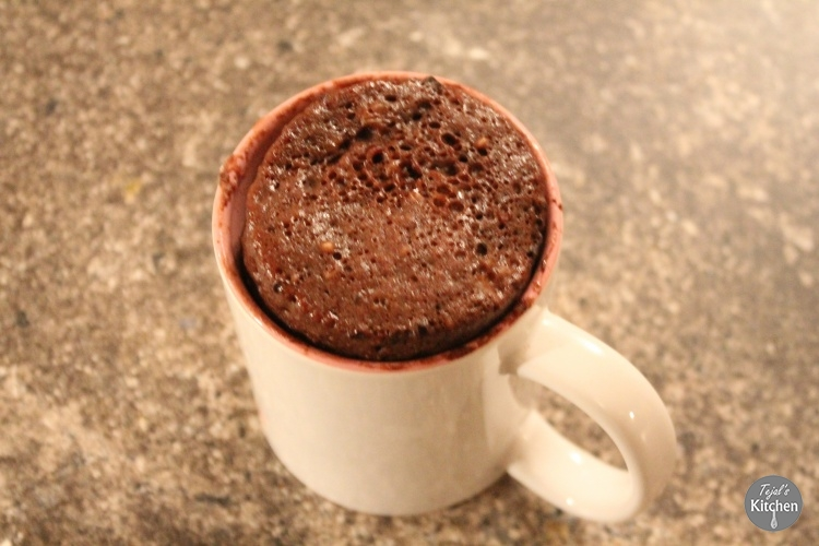 4 Minute Chocolate Mug Cake
