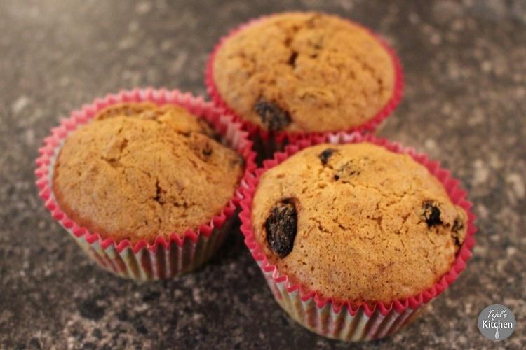 Carrot & Raisin Vitamix Muffins