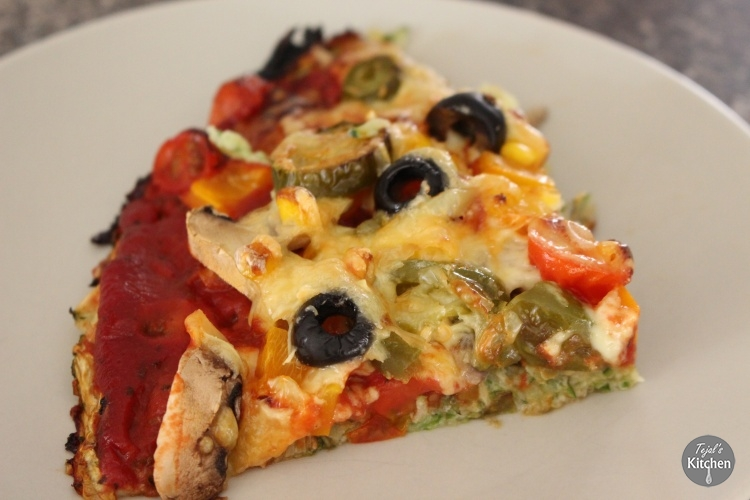 Courgette Pizza recipe