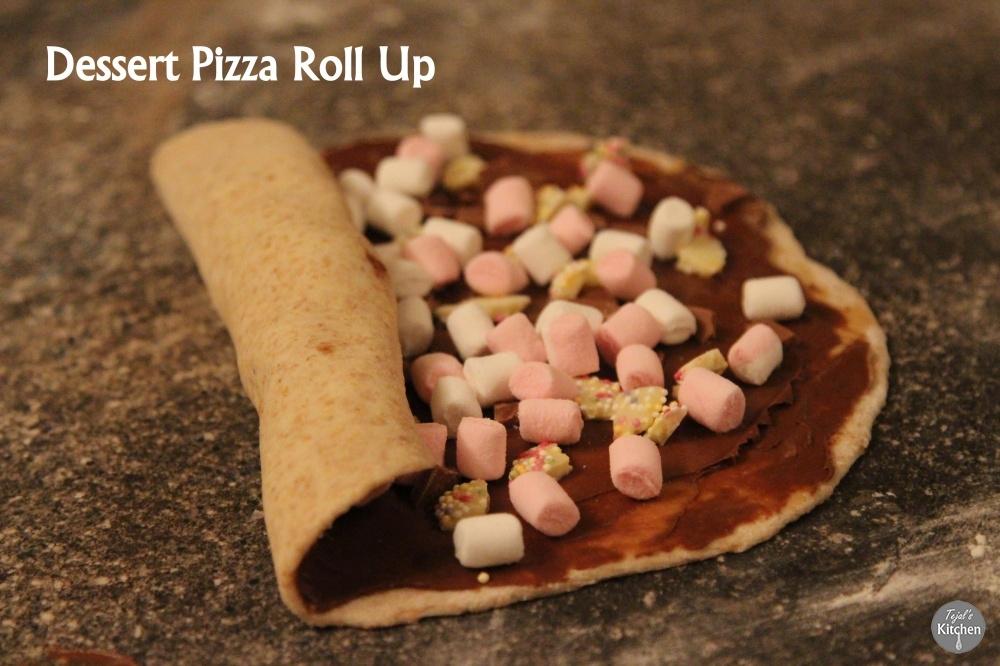 Pizza Dessert Roll Up