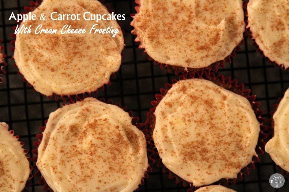 Apple & Carrot Cupcakes