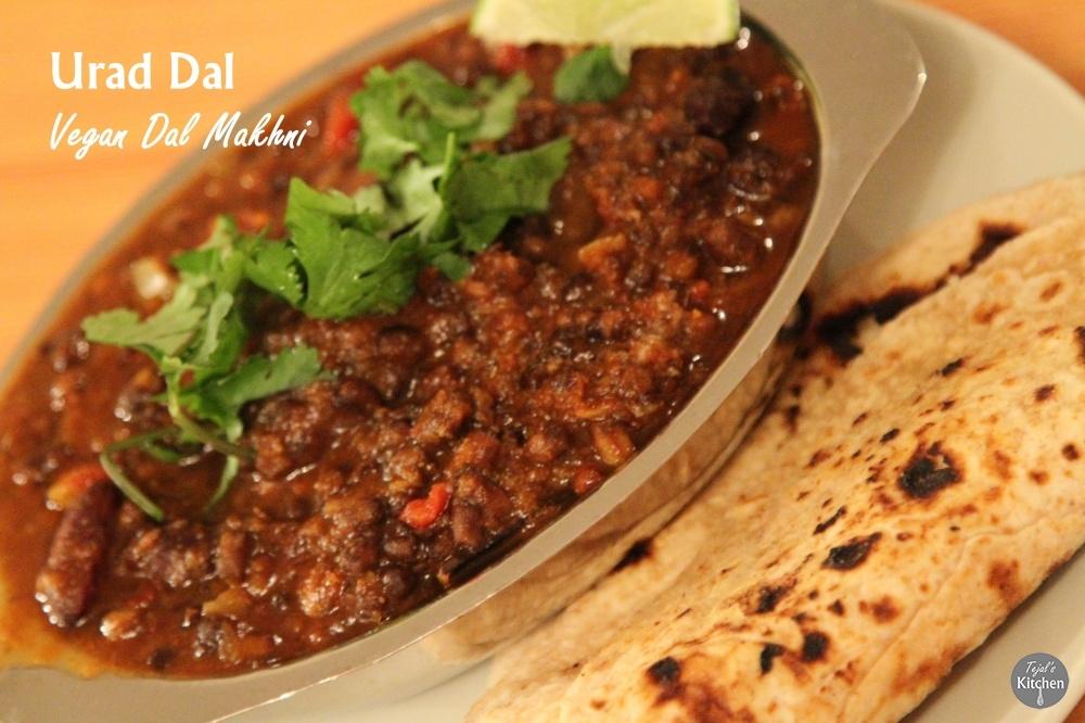 Urad Dal (Vegan Dal Makhni)