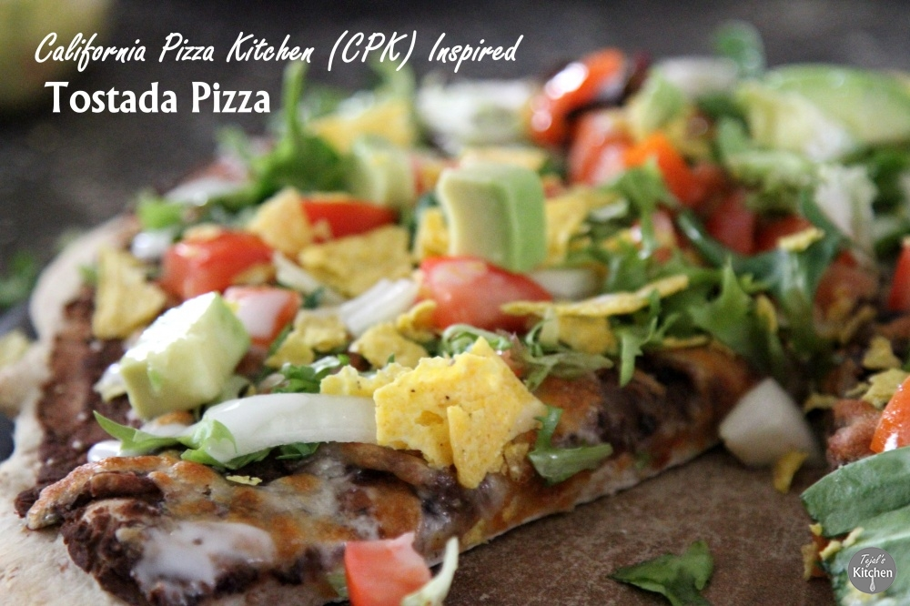 Tostada Pizza - CPK Inspired