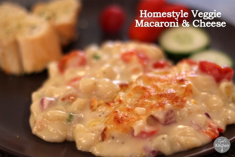 Homestyle Veggie Macaroni and Cheese
