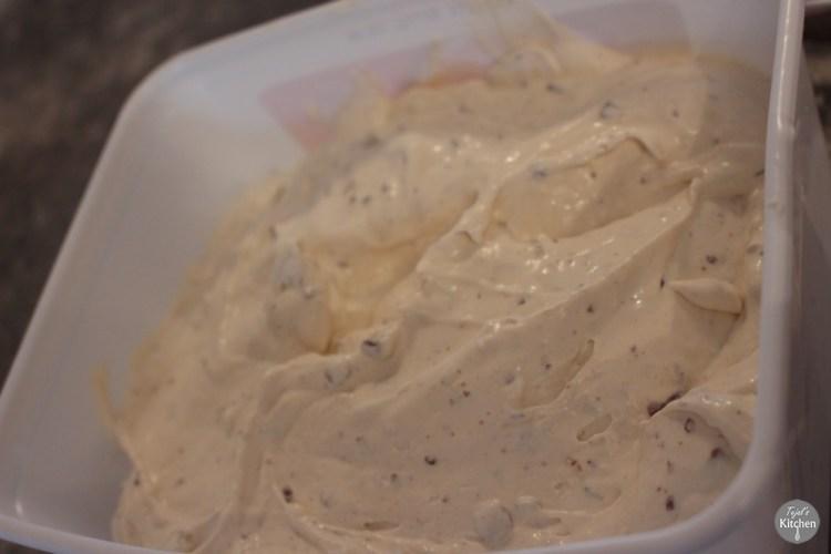 Pizookie & Banana Choc Chip Ice Cream
