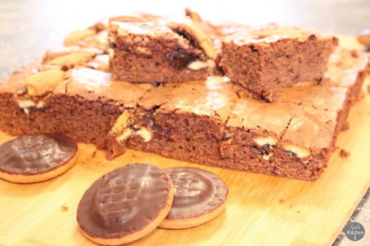 Jaffa Cake Brownies