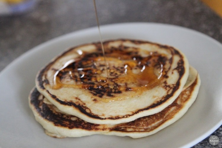 Eggless American Pancakes