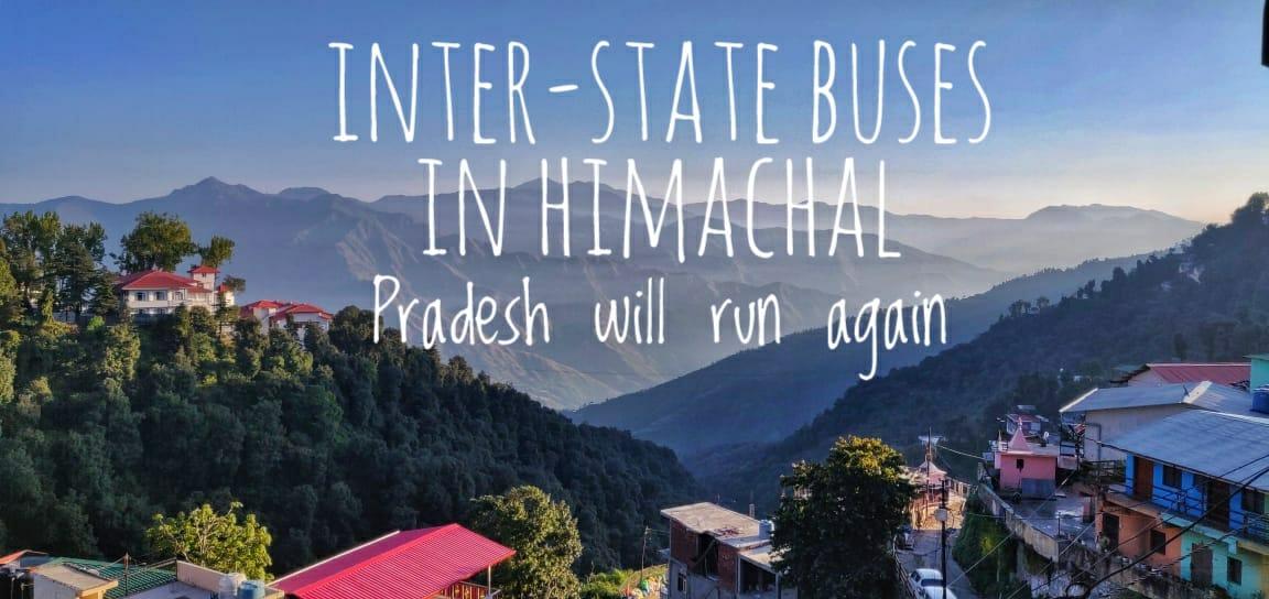 Interstate Buses Are Resumed in Himachal Pradesh