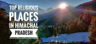 Top 5 Religious Places in Himachal Pradesh