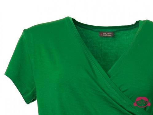 Froy & Dind shirt Emilia green detail