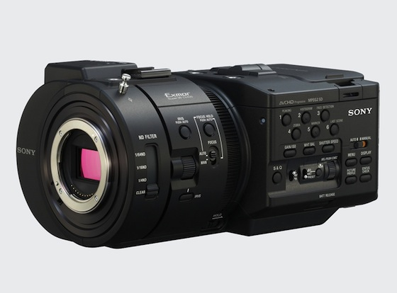 Sony Announces NEX-FS700