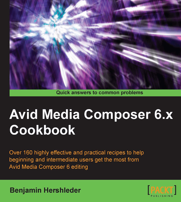 Avid Media Composer 6.x Cookbook Giveaway