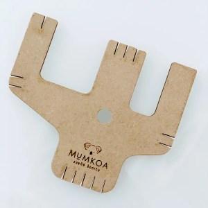 KIT Borlera de Mumkoa + 2 patrones