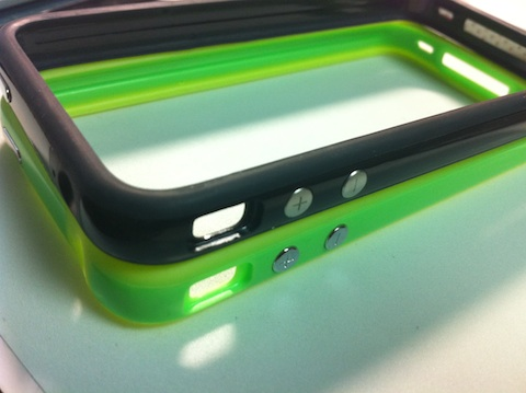 iPhone Bumper Black and Green
