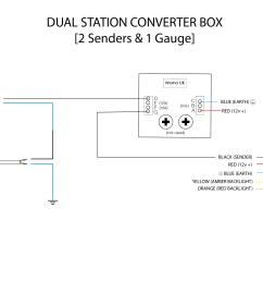 dual station 2 senders wiring diagram [ 2059 x 1415 Pixel ]