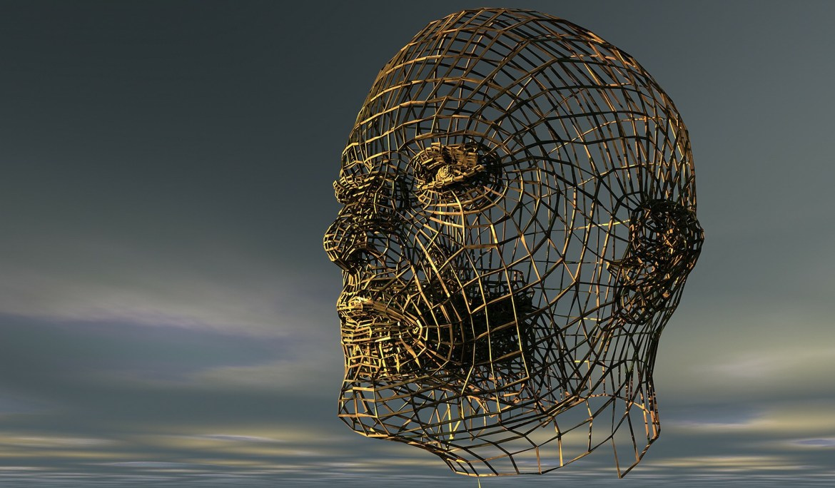 A very nice mesh surface of a face.