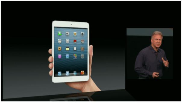 ipad mini screen shot of stream in hand