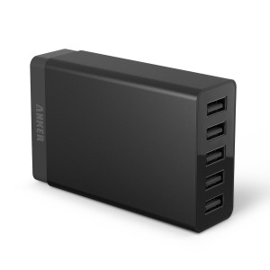 Anker 40W 5V / 8A 5-Port Family-Sized Desktop Charger