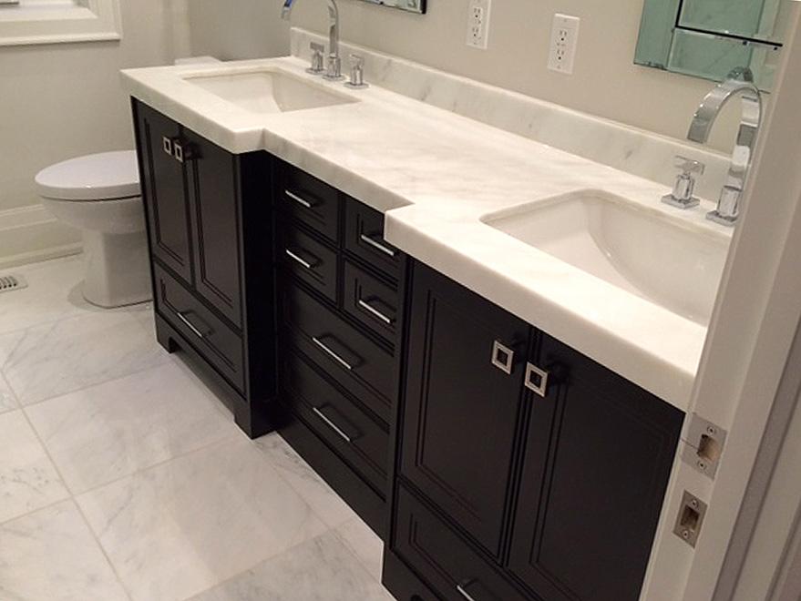 Custom Bathroom Vanities Design And Installation In Richmond Hill
