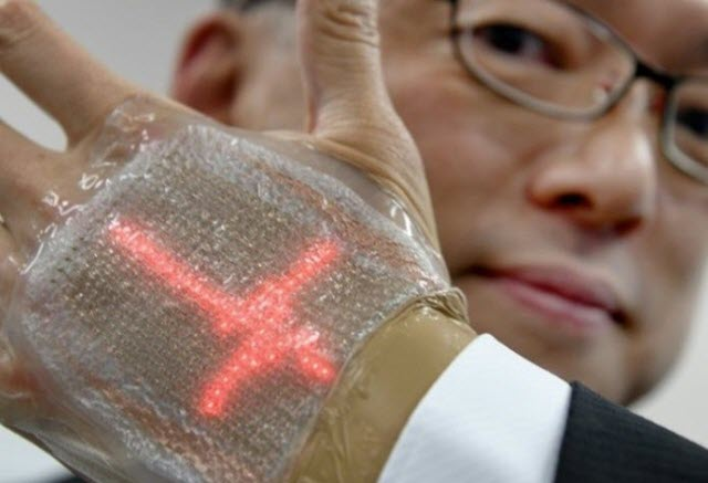 Crean 'piel electrónica' que muestra datos de tu salud y los envía a tu  médico