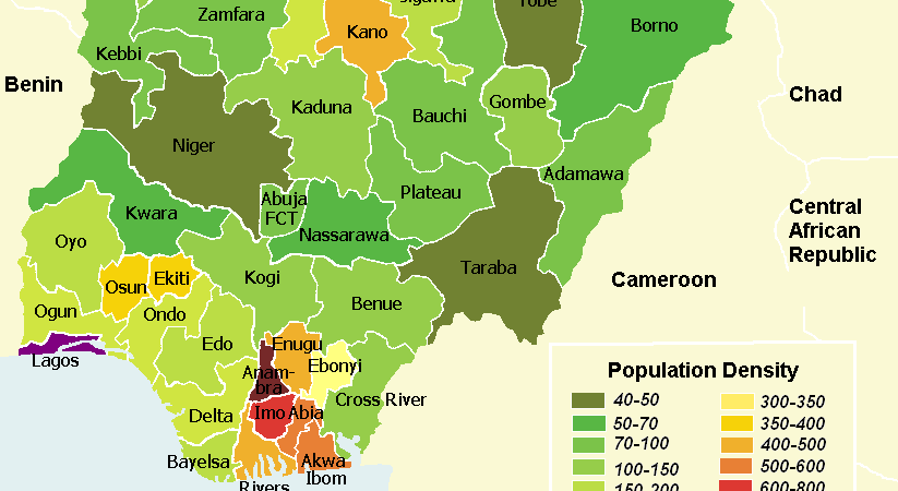 Foreign debts of Nigerian Governments by State