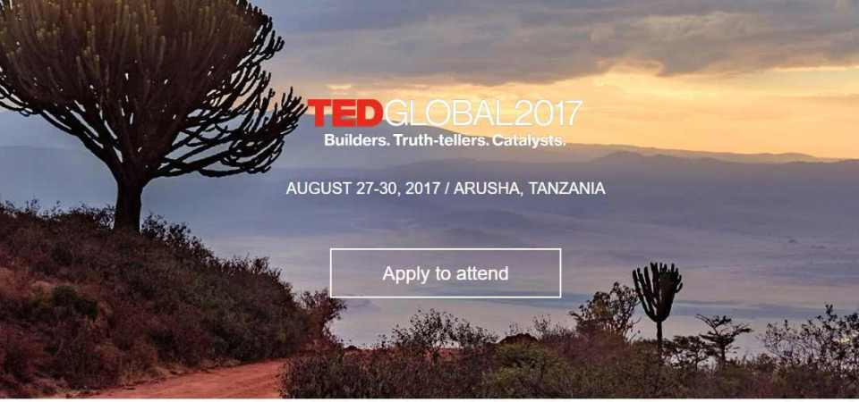 TED Global is returning to Africa in 2017 after ten years