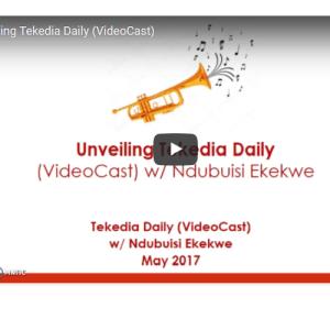 Unveiling Tekedia Daily [VideoCast] w/ Ndubuisi Ekekwe