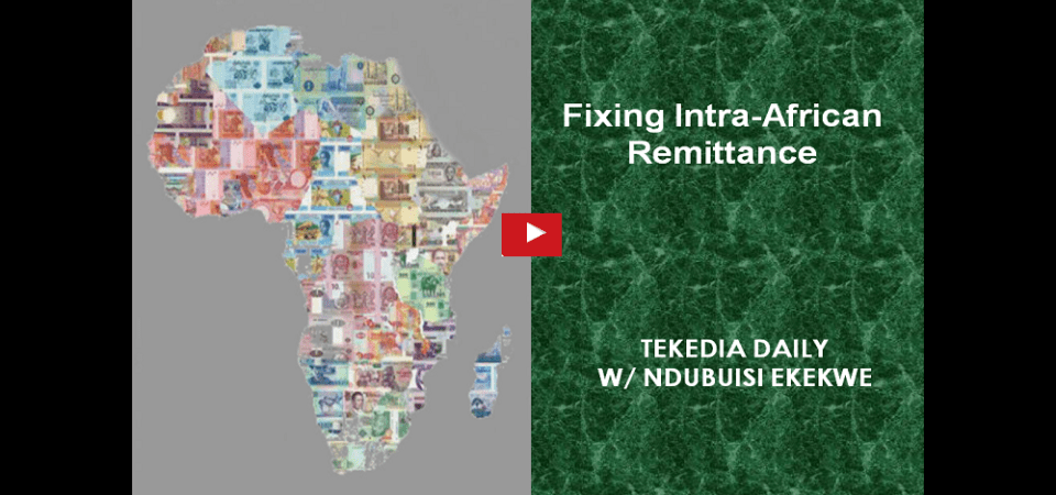 Fixing Intra-African Remittance [Video]