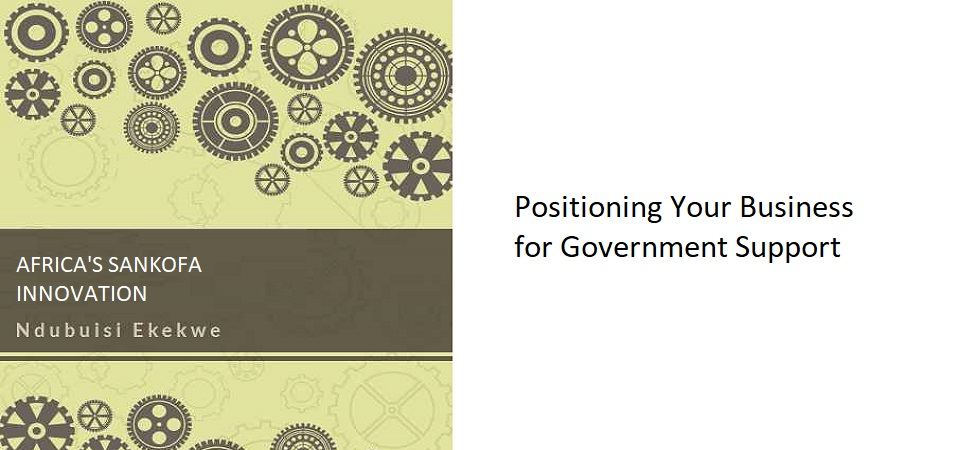 12.2 – Positioning Your Business for Government Support