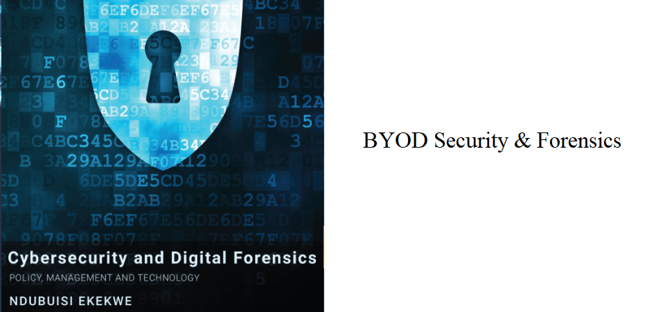 5.3 – BYOD Security & Forensics
