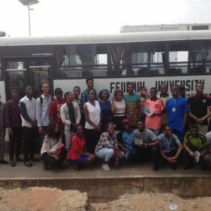 FUTO Students Visit My Design Center in Nigeria (Photos)