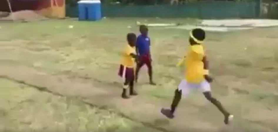 What We Can Learn on Communicating Vision from Kids' Relay Race [Video]