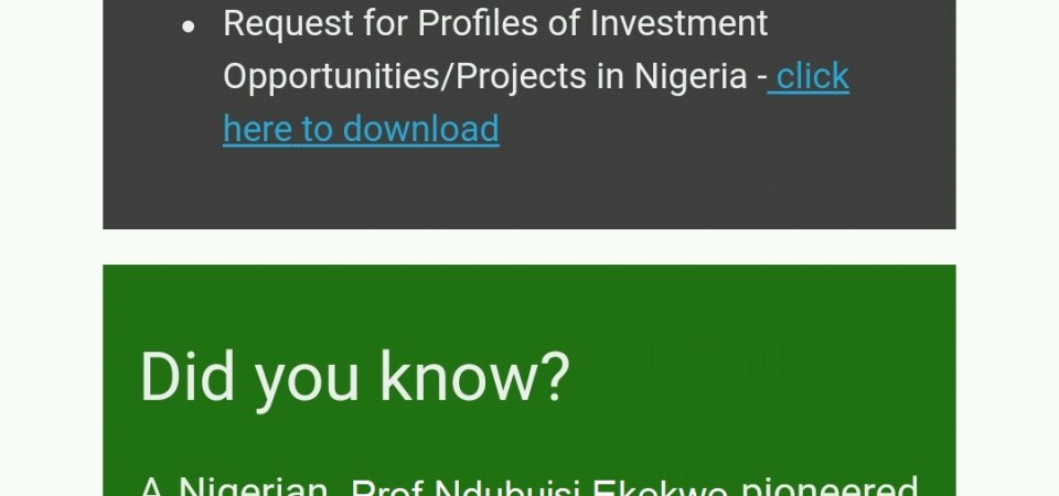 Thank You Nigerian Investment Promotion Commission (NIPC) for Promoting Zenvus