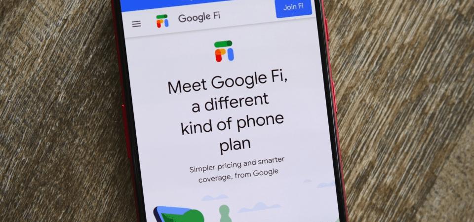 The Google Fi Mobile Service Plan
