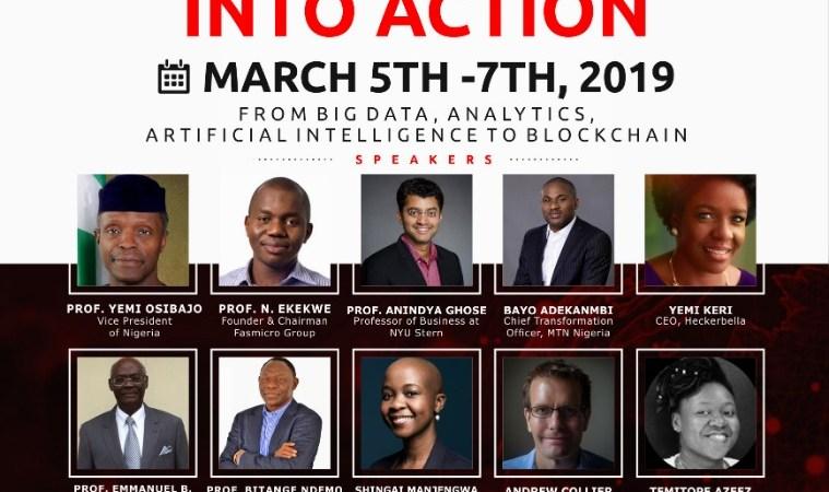 Join Prof Ndubuisi Ekekwe, Prof Yemi Osinbajo and Prof Anindya Ghose in Lagos (March 5-7) for BDBA Conference