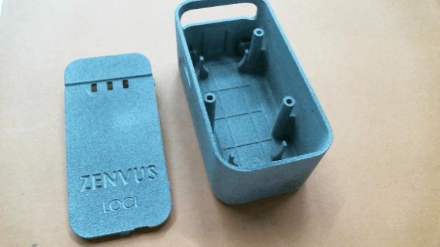 Unpainted 3D-Printed Zenvus Loci Enclosure