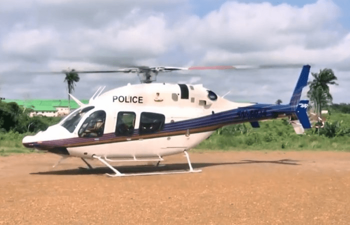 Insecurity: The Nigerian Police Commence Helicopter Surveillance