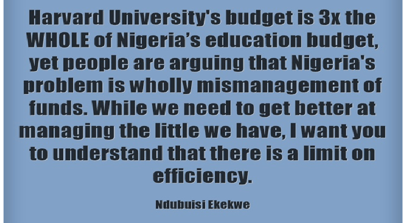 Beyond Efficiency in Nigeria's Public Sector
