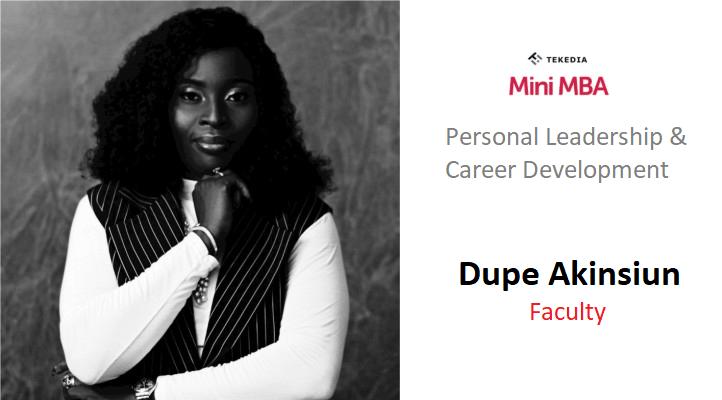 A Global HR Leader Will Teach Career & Personal Development During Tekedia Mini-MBA