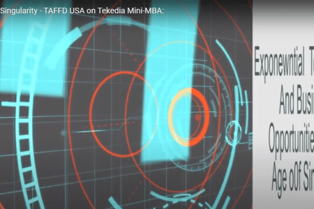 TAFFD, USA Will Lead A Session On Singularity During Tekedia Mini-MBA [Video]