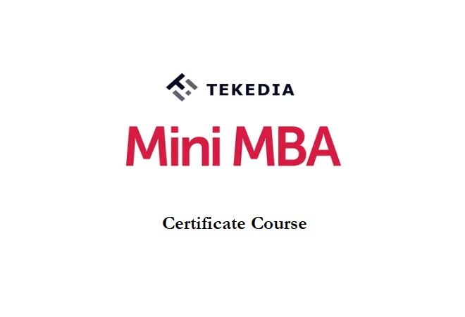 Tekedia New Certificate Courses; Tekedia Mini-MBA Edition 3 Registration Begins