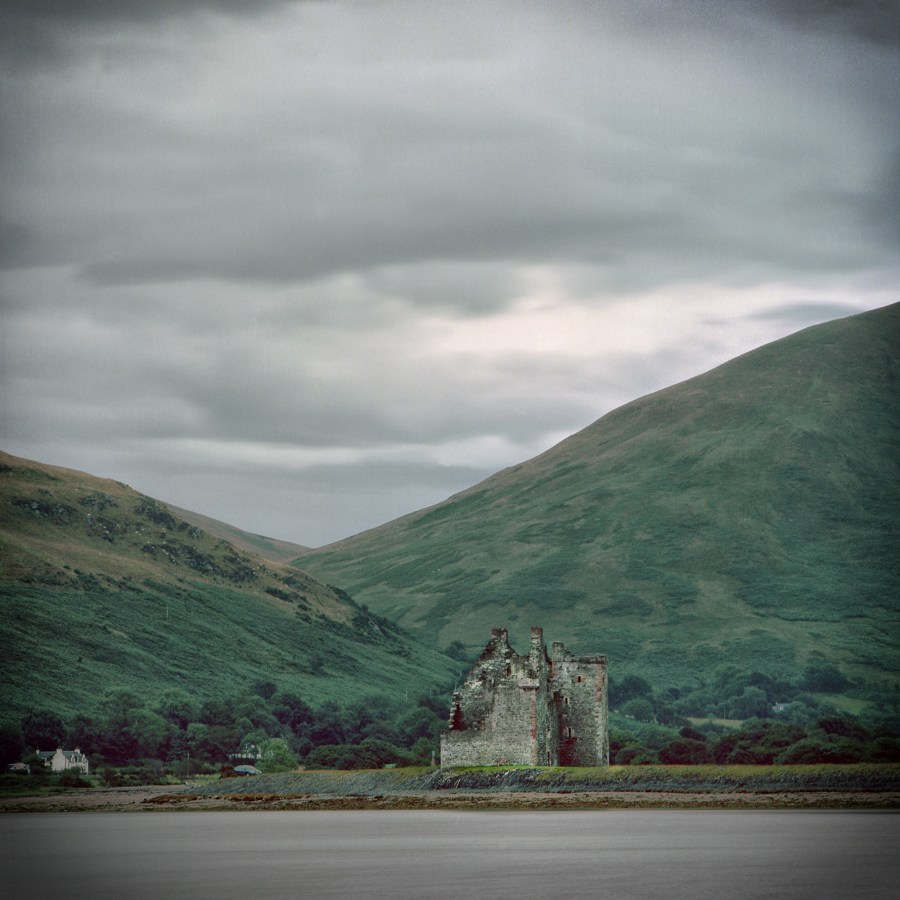 Lochranza Castle, Isle of Arran Scotland 2017 Hasselblad 503CW