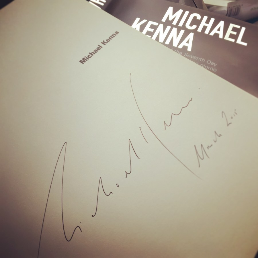 signed book...