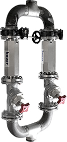 Bauer Watertechnology Systems dubbel PipeJet 100