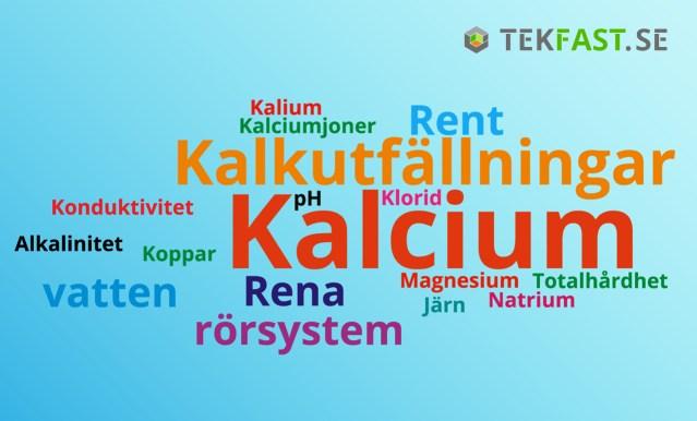 Kalkutfällningar även i Stockholm