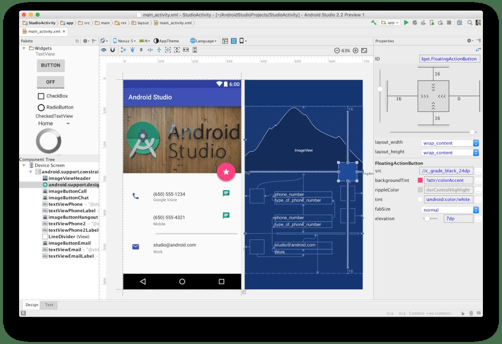 New Android Studio! :)