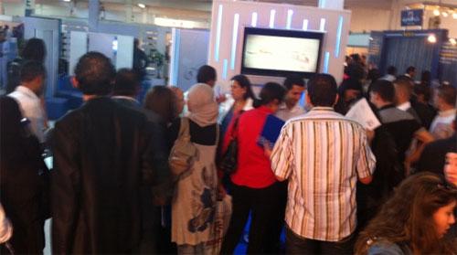 nous avons trois viviers pour recolter les cv des demandeurs d emploi le site internet de tunisie telecom les annonces de recrutement au bureau national